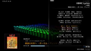 XBMCの歌詞表示